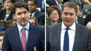 Trudeau and Scheer