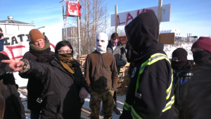 CN rail blockade edmonton