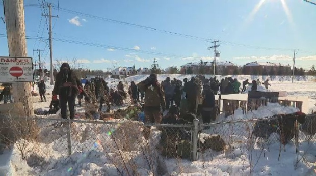 Commuters on South Shore of Montreal hit by railway blockades