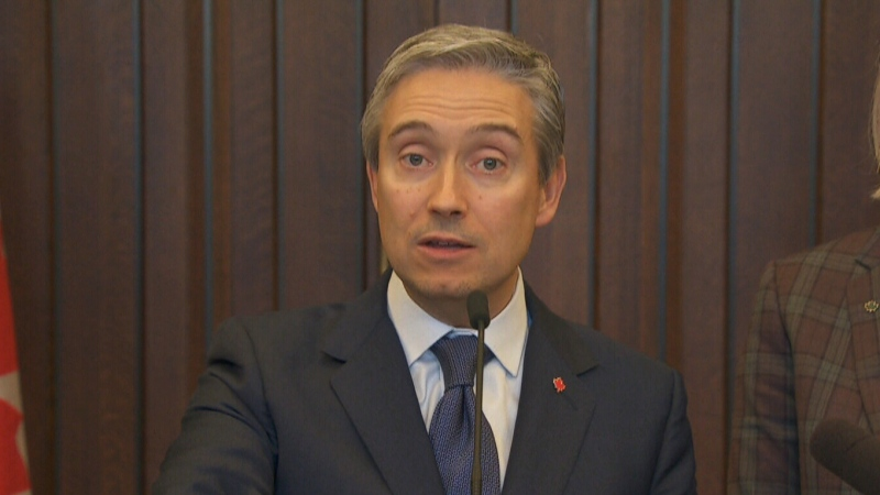 Minister Champagne