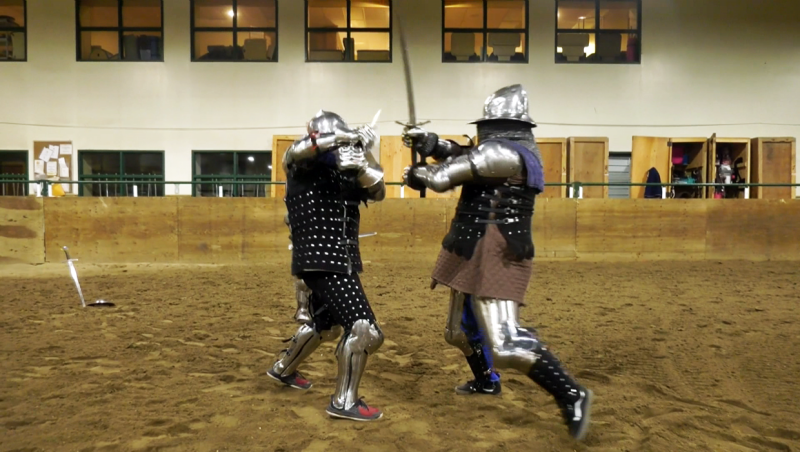 Okotoks residents Warren and Ryan Nielson and Richard Mann are all competing in the world championships of heavy armoured combat, which will be held in Madrid in May.