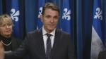 Quebec Transport minister Francois Bonnardel