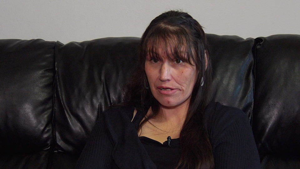 Raeanne Larocque says she felt like she had no control over her own pregnancy while in Pine Grove Correctional Centre. (Nicole Di Donato/CTV Saskatoon)