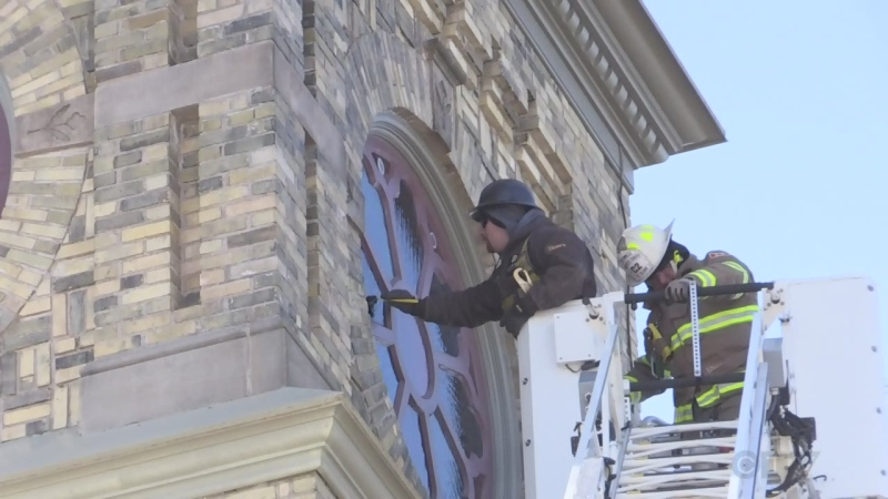 Firefighters help restore VPP window