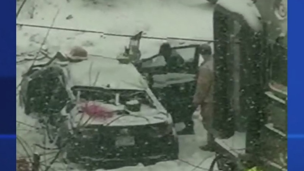 Car driven by 74-year-old taking driving test appeared to freeze before train hit it: Neighbour