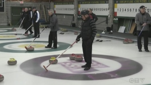 CTV Masters Curling Bonspiel underway