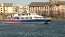 Clipper One arrives in Victoria on final voyage from Seattle, Feb. 19, 2020. (CTV News)
