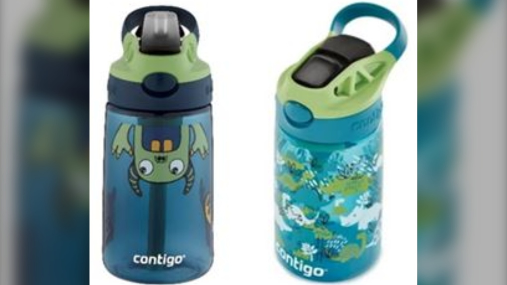 Recalled Contigo water bottles