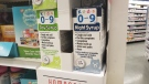 Homeopathic products for children are seen in a display case at a London Drugs in Vancouver, B.C. on Feb. 14, 2020.