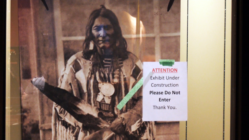The Siksika First Nation spent $100,000 to create a special preservation area for Chief Crowfoot's artifacts, but the Royal Albert Museum in Exeter, England won't return them.