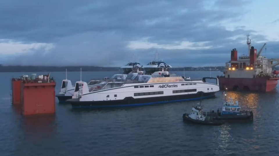 BC Ferries names its new Island Class vessels