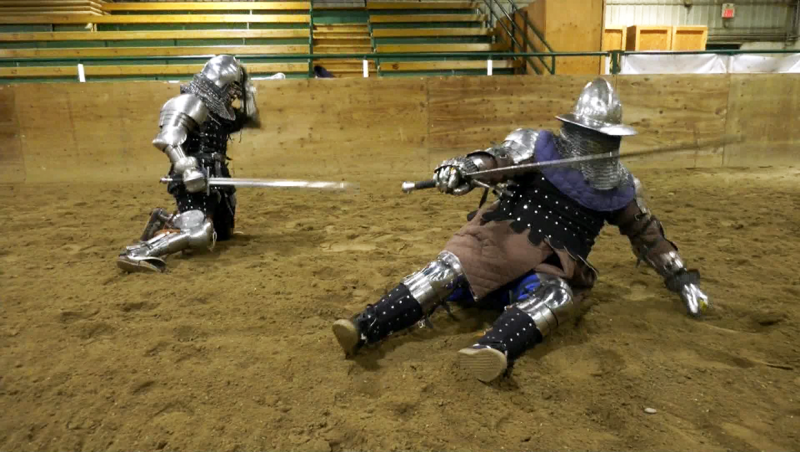 Watch: Three Okotoks men are headed to the world championships of heavy armour combat in Spain at the end of April.