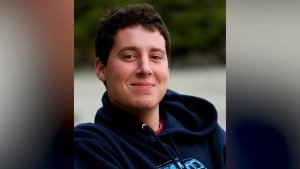Calder McCormick, 24, sustained a life-altering injury when he was involved in a crash on Salt Spring Island in 2012.