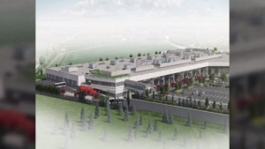 A rendering of the new facility is seen here. (Courtesy: Region of Waterloo).