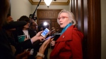 Minister of Crown Indigenous Relations Carolyn Bennett arrives to a caucus meeting on Parliament Hill in Ottawa on Wednesday, Feb. 19, 2020. THE CANADIAN PRESS/Sean Kilpatrick