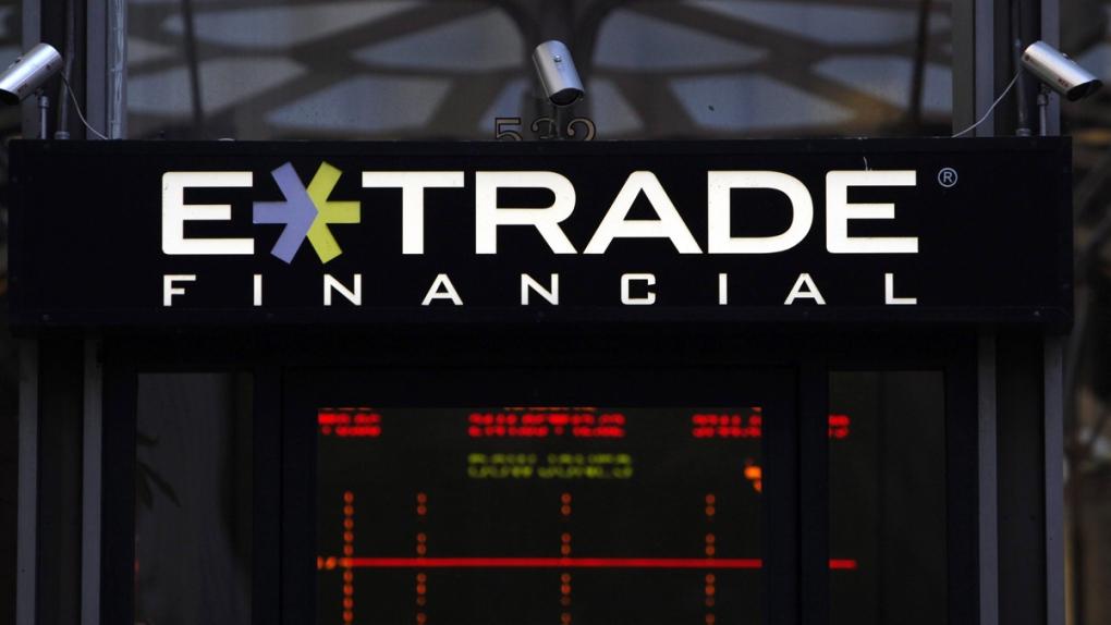 An E- Trade Financial branch