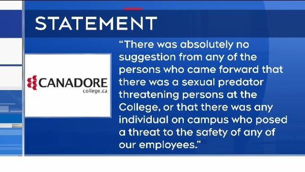 Canadore statement