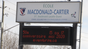 MacDonald Cartier's 50th anniversary is being held in May 2020. Feb. 19/20 (Christian D'Avino/CTV Northern Ontario)
