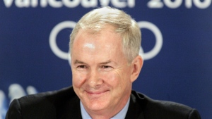 VANOC CEO John Furlong smiles during a news conference in Vancouver on February 3, 2006. While Vancouver celebrates the 10th anniversary of the 2010 Winter Olympic and Paralympic Games, the man who co-led the bid and headed the organizing committee wants the city to do it again in 2030. John Furlong told the Vancouver Board of Trade in a speech Thursday he thinks the city could and should bid for the 2030 Winter Games. THE CANADIAN PRESS/Chuck Stoody