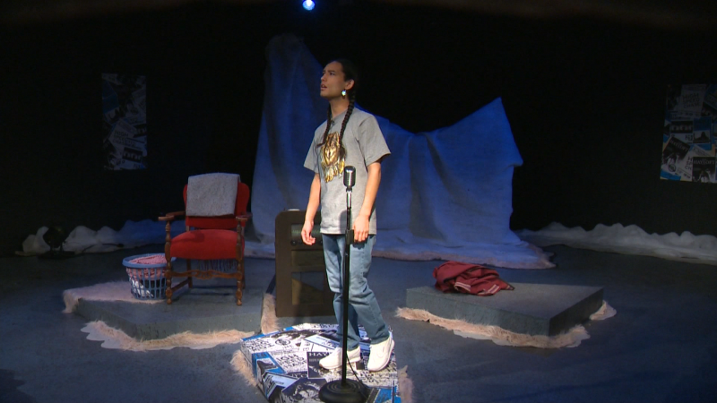 Making treaty 7 presents the compelling 'Snowblind –Old Man The Napi Project' on stage now