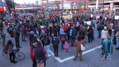 Main Vancouver roads blocked amid growing tensions