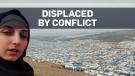 Activist films vast camp for displaced Syrians