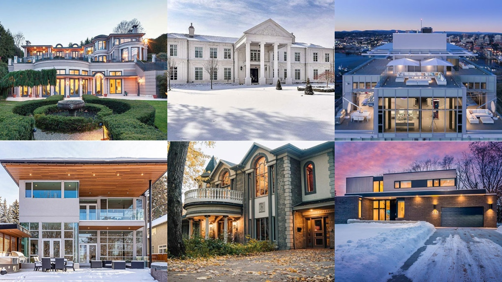 Most expensive homes for sale in Canada right now