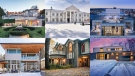 A combination photo shows homes in Vancouver, Toronto, Victoria, Saskatoon, Quebec City and Winnipeg. (Photos from Realtor.ca and Sotheby's International Realty)
