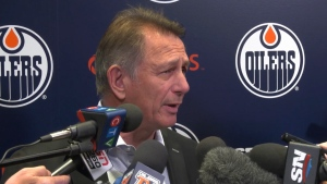 Edmonton Oilers general manager Ken Holland says he would like to made a trade before the NHL trade deadline on Monday, Feb. 24, 2020. (CTV News Edmonton)