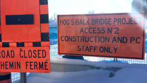 """The popular Hog's Back Swing Bridge over the Rideau Canal closed in August 2019 for rehabilitation work to extend the bridge's service life another 20 to 30 years. Due to challenges during the """"construction process"""" the bridge, scheduled to reopen in May 2020, will remain closed an additional three months, until Aug. 28."""