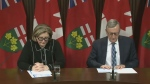 Ontario health officials on CODVID-19 update