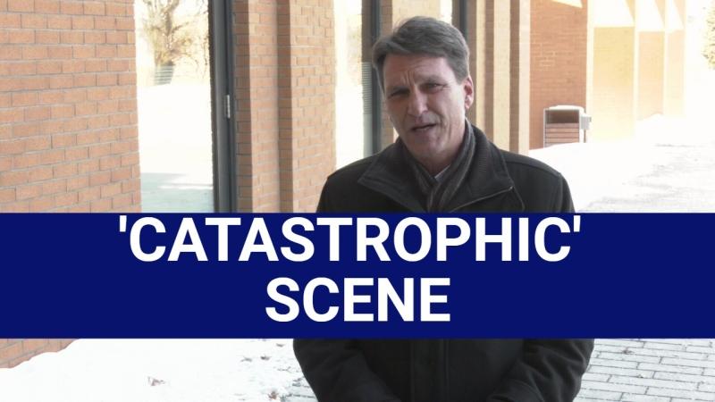 Ken Bathurst describes the catastrophic scene