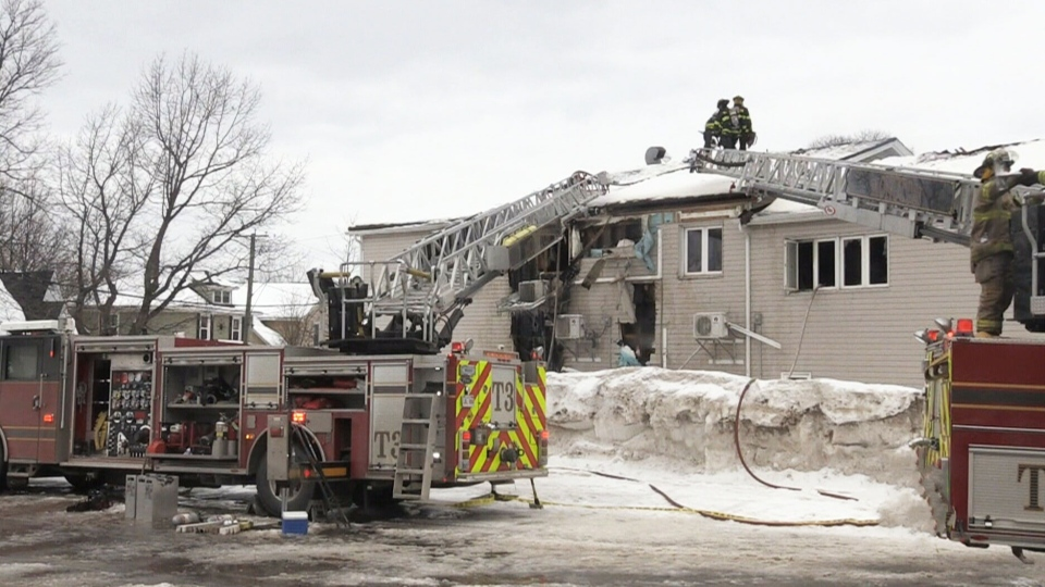 A building that has a 40-year history of helping those in need in Moncton has been badly damaged by fire.