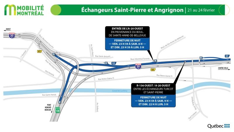 Highway 20 closures, Feb. 21 to 24.