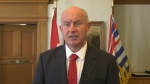B.C. Minister of Public Safety and Solicitor General Mike Farnworth is pictured: (CTV News)