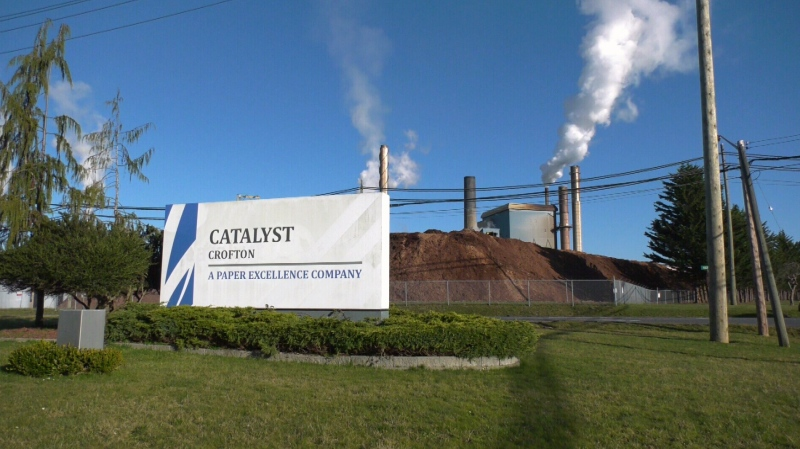 The Catalyst mill in Crofton, B.C. (CTV News)