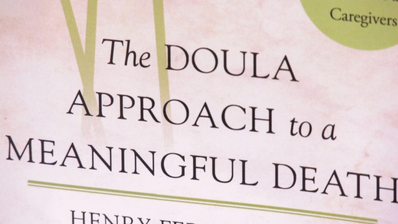 Growing interest in end-of-life doulas
