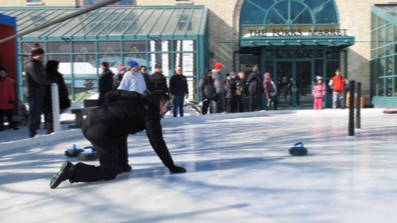 Manitoba mayors battle for Crokicurl trophy