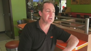 Island fast-food owner gives staff free holiday