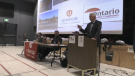 Ontario Health Coalition presents its report in Sudbury on Ontario's PSW shortage in long-term care facilities. (Feb.20 /2020)