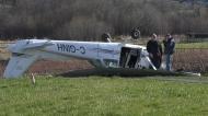 Plane crash pilot says history helped save lives