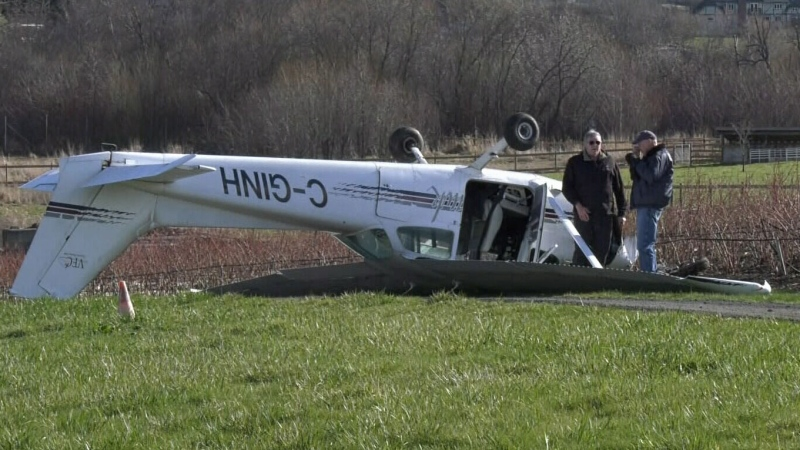 Plane crash pilot says history helped save lives