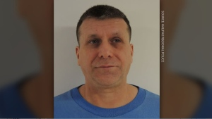 John Francis Normand Dionne, 52, was released from Dorchester Penitentiary after completing a sentence for kidnapping, unlawful confinement and impersonating a peace officer. (COURTESY HALIFAX REGIONAL POLICE)