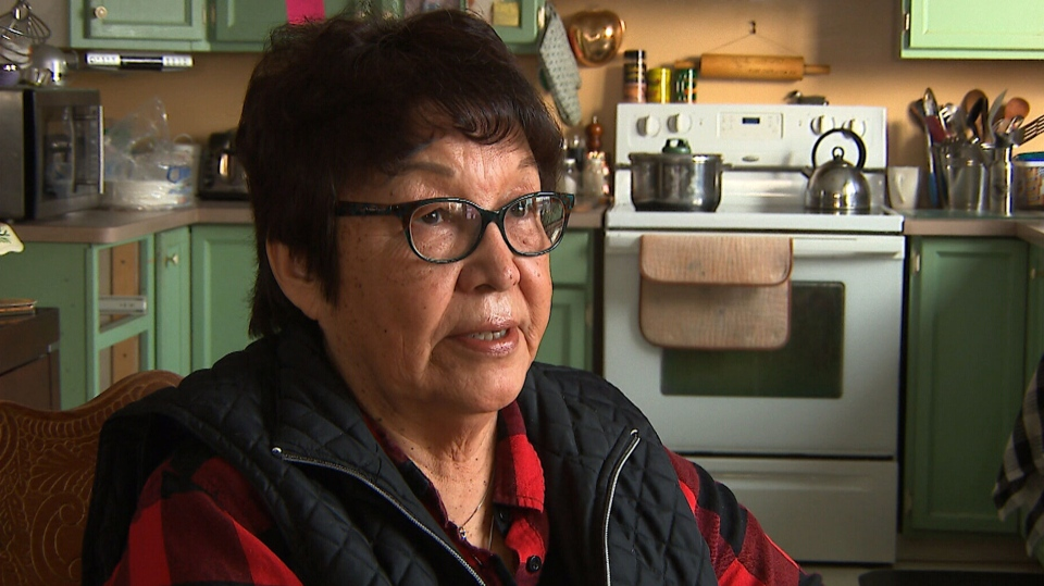 Alice Rigney, a Dene elder in Fort Chipewyan
