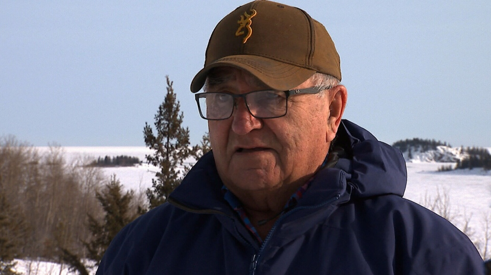"Fred ""Jumbo"" Fraser, an 82-year-old Metis elder,"