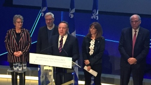Premier Francois Legault announced Feb. 21, 2020 that his CAQ government would extend $10 million USD to director/producter Roland Emmerich to produce three feature films in Quebec.