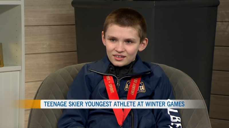 Wyatt Oostendorp on CTV Morning Live