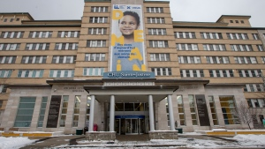 Sainte-Justine Hospital is seen Thursday, January 16, 2020 in Montreal.THE CANADIAN PRESS/Ryan Remiorz
