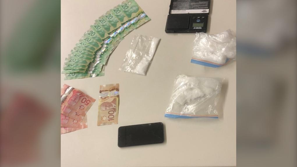 Meth cash seized