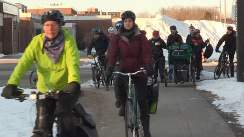Winter Ride Your Bike to Work Day rolls along
